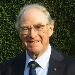 Photo of Prof Brian Duerden CBE